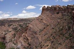 Roche de grès rouge en Utah, Etats-Unis Photo stock