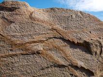 Roche de granit Images libres de droits