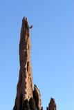 roche de grimpeur Image stock