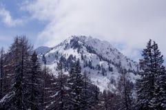 Roche de Milou en Italie dans les montagnes Photo stock