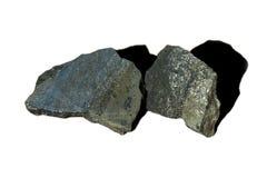 Roche de minerai de nickel photo stock