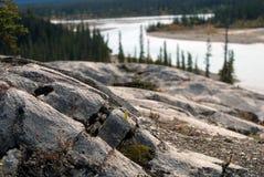 Roche de montagne Image libre de droits