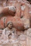 roche de montagne de tintement de dazu de découpages de bao Photos libres de droits