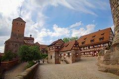 Roche de Nuremberg Photos libres de droits