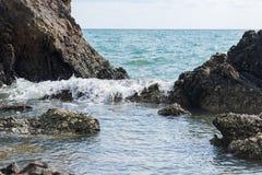 Roche de paysage marin photographie stock libre de droits