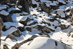 roche de piles Image stock