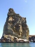 roche de pilier d'îles de Galapagos Photographie stock