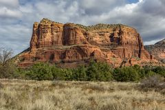 Roche de rouge de Sedona Arizona Photo stock