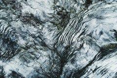 Roche de schiste des alpes européennes (haut Tauern) Pleine trame normal Images stock