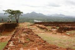 Roche de Sigiriya Photos libres de droits