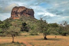 Roche de Sigiriya Photo libre de droits