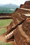 Roche de Sigiriya, Sri Lanka Photographie stock