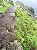 Roche de skellig de Skellig Michael, Irlande Photo libre de droits