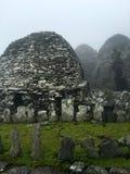 Roche de skellig de Skellig Michael, Irlande Photos libres de droits
