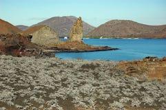 Roche de sommet, Galapagos photos libres de droits