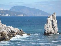 roche de voile et montagne d'ours Image libre de droits