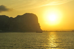 Roche du Gibraltar Photos stock