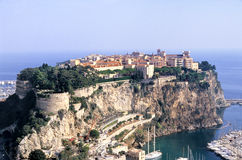 Roche du Monaco Photographie stock libre de droits