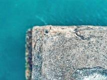 Roche et mer Photos libres de droits