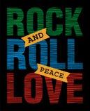 Roche, et, petit pain, paix, amour Image stock