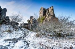 Roche-Felsen-Kapelle Stockfoto