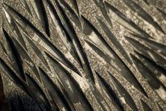 Roche fossilisée avec des créatures de mer Image libre de droits
