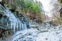 Roche glaciale Photos libres de droits