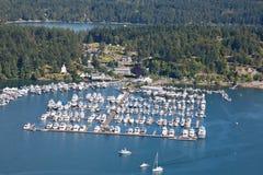 Roche hamn San Juan Washington Arkivbilder