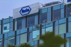 Roche. The headquarter of the Roche company Royalty Free Stock Image