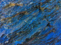 Roche humide, formations en pierre image stock