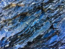 Roche humide, formations en pierre comme fond image libre de droits