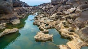 roche invisible de 3000 bok belle du Mékong Image stock