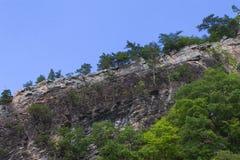 Roche - montagne Ridge Image libre de droits