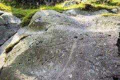 Roche Mountonnee в английском районе озера Стоковое фото RF