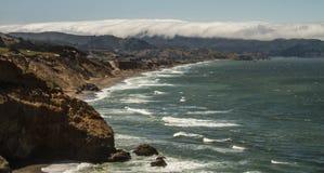 Roche Pacifica Coast de Mussell Photo stock