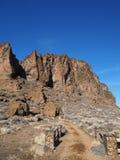 Roche rocailleuse de fort photo stock