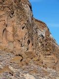 Roche rocailleuse de fort image stock