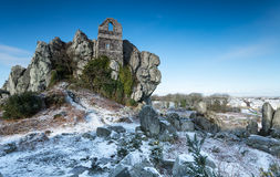 Roche Rock Chapel Stock Images