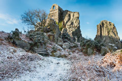 Roche Rock in Cornwall Royalty Free Stock Photo