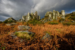 Roche Rock Stock Photos
