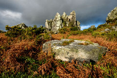 Roche Rock Stock Image