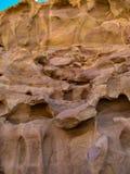 Roche rouge de soulagement belle de grès dans le canyon en Jordanie petra photos libres de droits