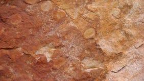 Roche rouge en Australie Image libre de droits