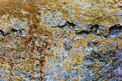 Roche rouge et orange de fond Image stock