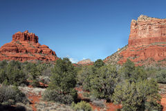 Roche rouge, Sedona Arizona Photo libre de droits