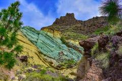 Roche volcanique photos libres de droits
