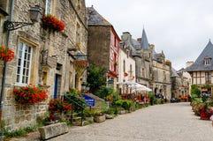 Rochefort-en-Terre Royalty Free Stock Photography