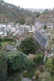 Rochefort-en-Terre - Frankrike Royaltyfria Foton
