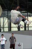 Rochen springen 1. Stockbild