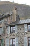Rocher de Bonnevie., Murat, Cantal ( France ) Royalty Free Stock Image